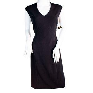 Nipon Boutique Black Sheath Dress 6